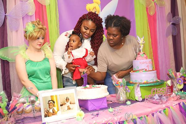 PRINCESS KAYLISEA 1ST BIRTHDAY BASH