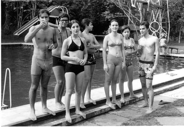 1972 Victor Valente, Mário Santos David, Zelinha Adalberto, Carlos Filipe, Maria João Pereira, Paula Botelho, Ze' João Mendonça