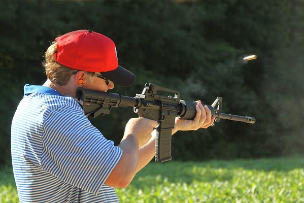 Shooting Practice August 2015
