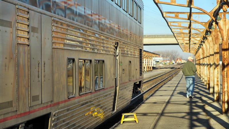 Amtrak's California Zephyr/City of New Orleans