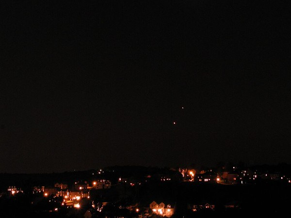Venus & Jupiter Sept 2005