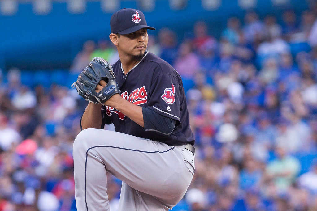 . Carlos Carrasco rebounds from his broken hand >> Having to play the postseason without Carrasco and Danny Salazar (strained right forearm), decimated the starting rotation in the playoffs, but the good news is neither injury will carry into 2017, as elbow or shoulder surgery might. Carrasco was hit on the right hand by a batted ball on Sept. 16 and finished the year 11-8. It was just a case of bad luck at the worst possible time. Carrasco started throwing in December and should have no restrictions in spring training. (Chris Young/The Canadian Press via AP)