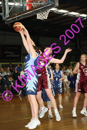WABL Women Final - Manly Vs Bankstown 4-8-07
