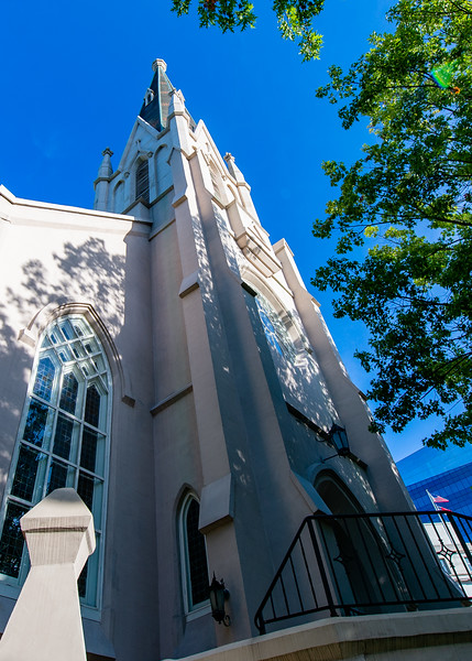 First Baptist Church. Raleigh, NC. August 4, 2020