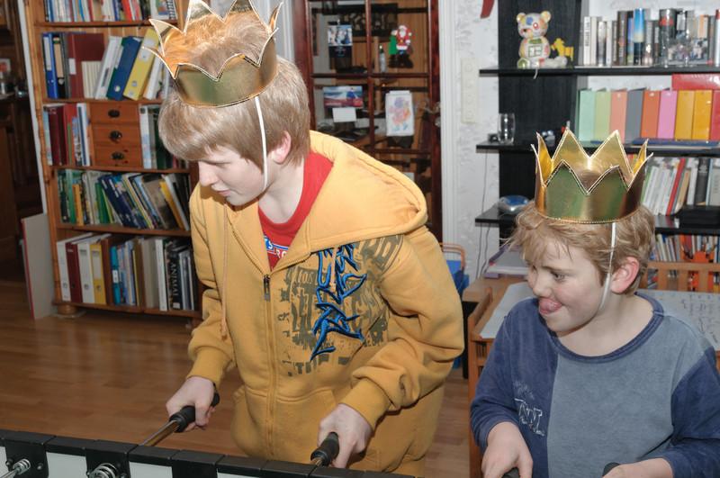 Oskar und Richard waren ausser Konkurenz auch dabei.