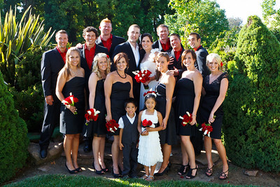 Family and Bridal Group Shots
