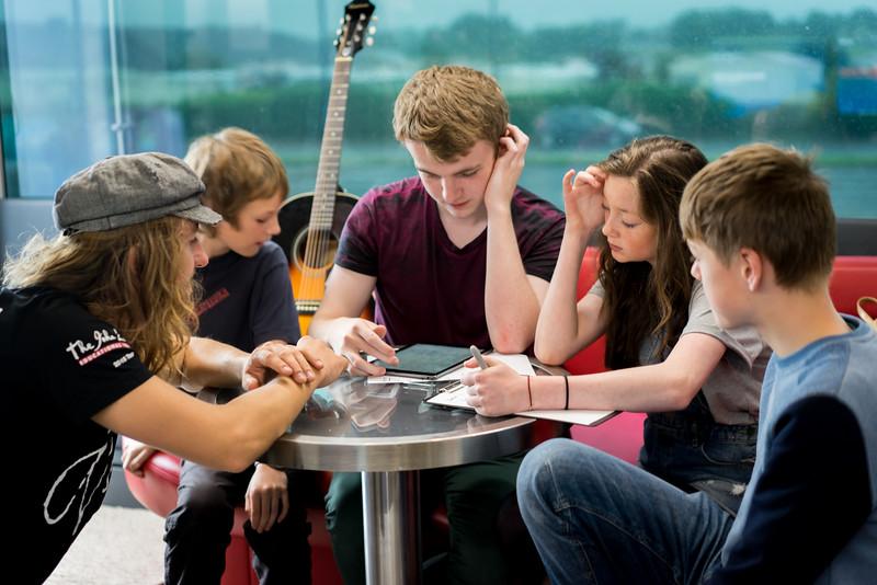 2015_08_05, Bonduran, Bonduran Town Council, Community Library Area, Donegal, Hendrik Kühling, Ireland, JLETB, Student Session