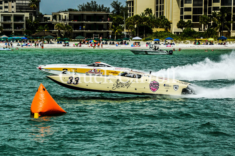 Sarasota Powerboat Grand Prix Races - Day 2 - Chuck Carroll