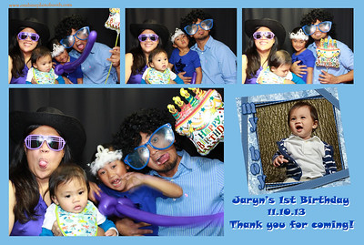 Jaryn's 1st Birthday