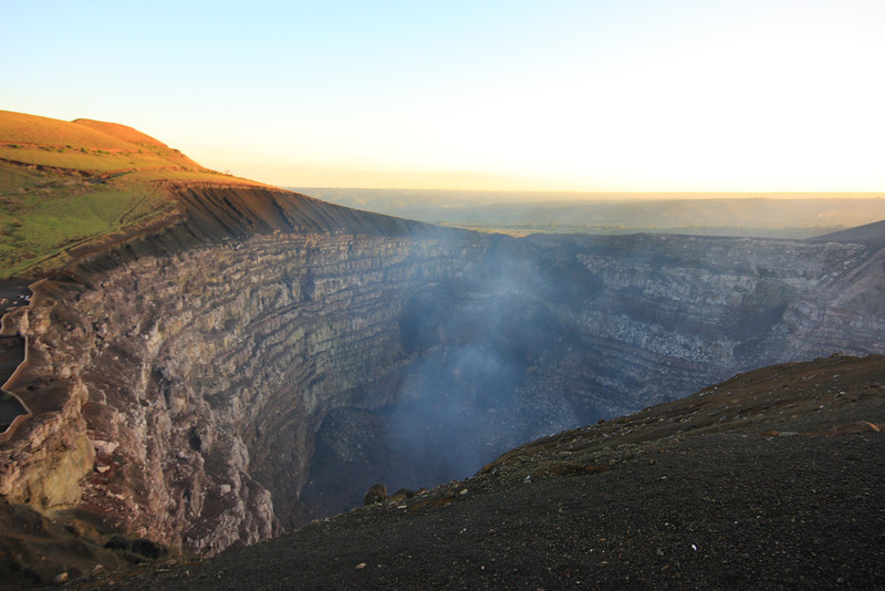 """Spaniards declared the crater to be """"the mouth of hell"""""""
