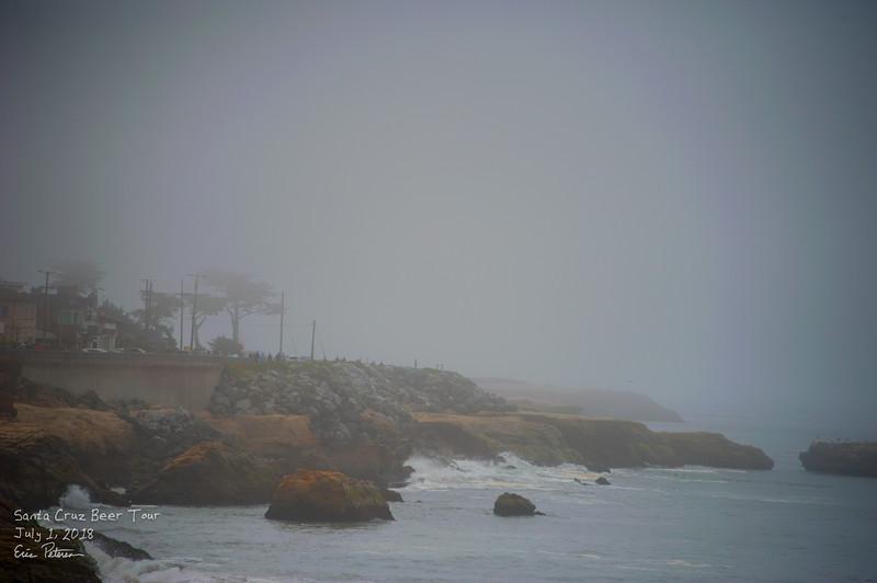 The fog rolls in
