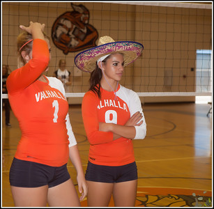 Senior Night and Volleyball against Westhills