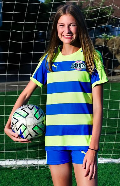 Southern California Blues Soccer Club Girls 2006 - Carter