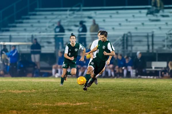 Game 2 - Atholton Varsity Soccer Playoffs - 11/3/15