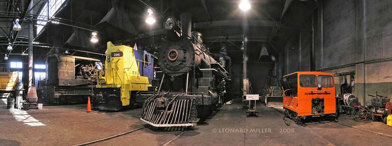 Engine House - Nevada Northern Railroad - Ely, Nevada