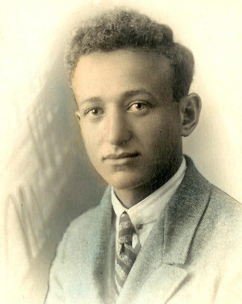 Гриша Пикус за три месяца до ареста. Лето 1936 года.