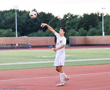 Boys Soccer Action