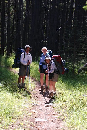 Upper Seymour Lake - Anaconda Pintler Wilderness