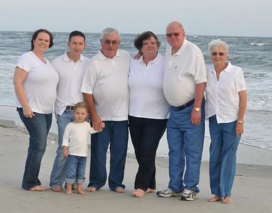 Holden Beach NC Family Photos