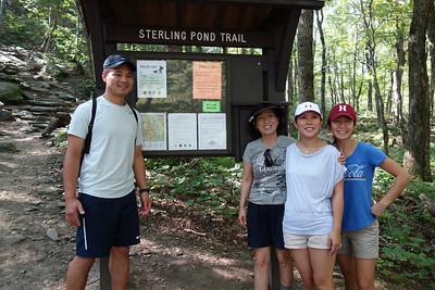 Nebraska Notch / Sterling Pond Hike, VT - 8/13
