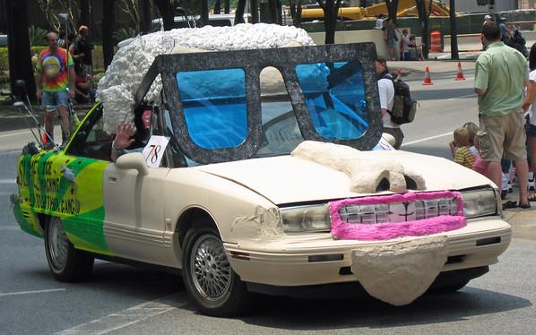 Houston Art Car Parade — May 10, 2008