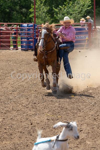 Goat Tying Seniors Girls