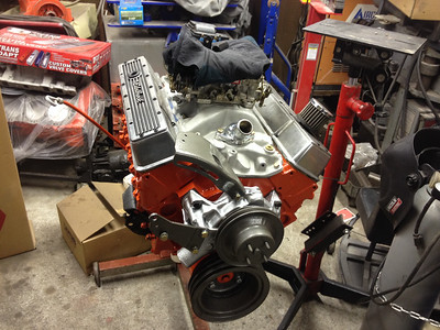 1968 Chevy nova roller