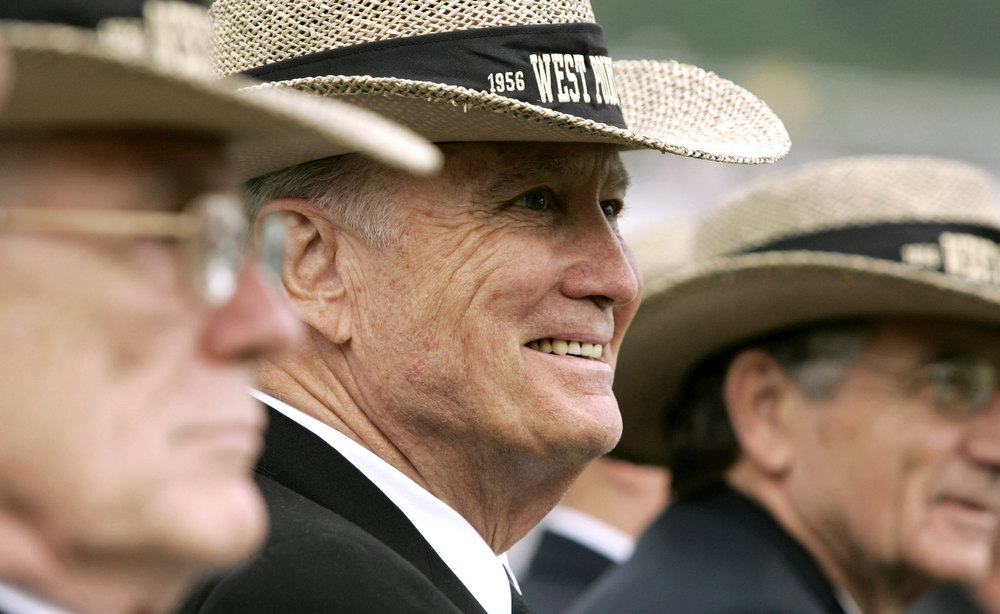 . In this May 27, 2006 file photo, Retired Army Gen. H. Norman Schwarzkopf attends the commencement ceremony at the United States Military Academy in West Point, N.Y.  Schwarzkopf died Thursday, Dec. 27, 2012 in Tampa, Fla. He was 78. (AP Photo/Haraz N. Ghanbari, File)