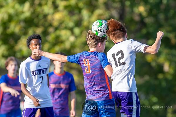 9-28-21 Minneapolis Southwest v Minneapolis Washburn Boys Soccer - Sylvester Cup