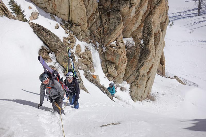 Sawtooth Ski Mountaineering