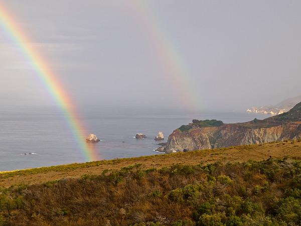 Double Rainbow by the Bixby Bridge