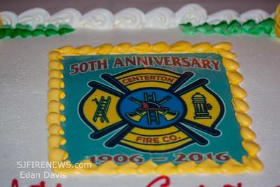 10/08/2016, Centerton Fire Co. 50th Anniversary Banquet.