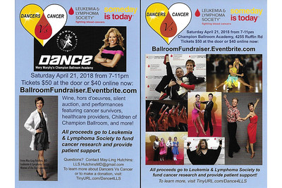 Dancers vs Cancer Fundraising