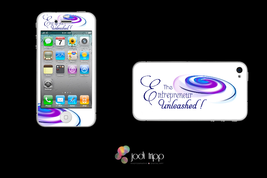 iphone4  custom skin for The Entrepreneur Unleashed