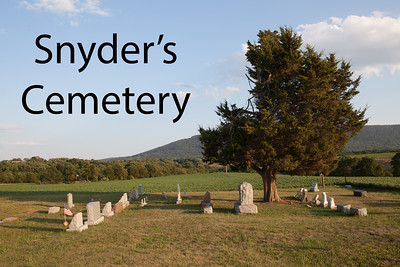 Snyder's Cemetery - Kempton, PA (near)