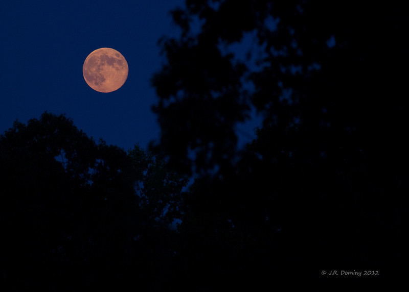 Blue Moon - August 31, 2012 @ 7:42 P.M