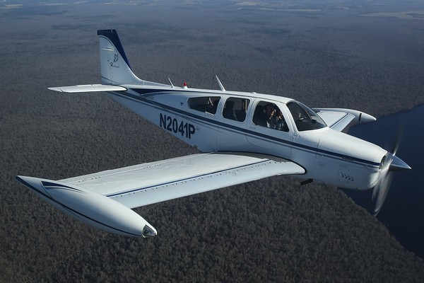 "1978 Beechcraft F33A ""Bonanza"", Norfolk, 14Jan18"