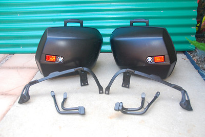 BMW R1100S system cases/mounts