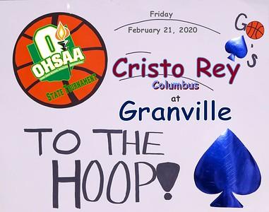 2020 OHSA Tournament - Cristo Rey at Granville (02-21-20)