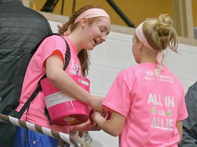 Lyons Township Girls Basketball Pink Game
