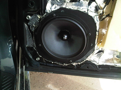 2009 MAZDASPEED3 Front and Rear Speaker Installation