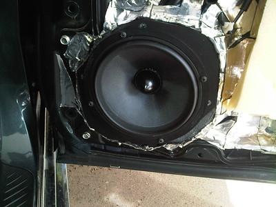MAZDASPEED3 speaker Installaions