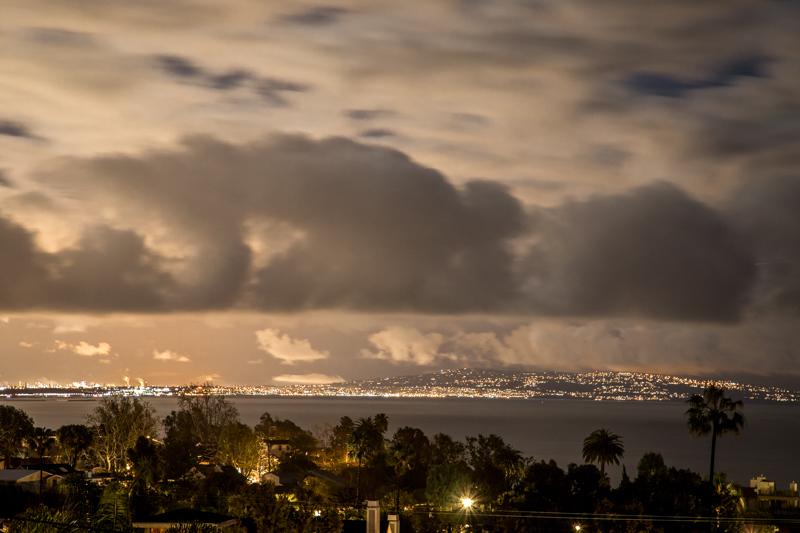 March 2 - By the light of the full moon oveer Santa Monica Bay.jpg