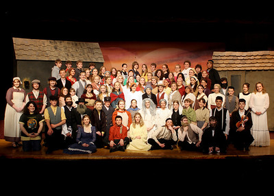 Fiddler on the Roof Cast and Groups