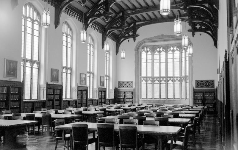Great Reading Room, University of Oklahoma Library  Kiev IIa