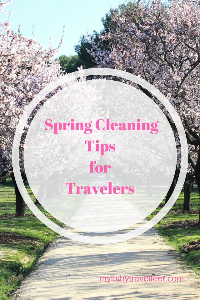 Tips for spring cleaning up your #boomer #travel life including #luggage, clothing, shoes and camera equipment.