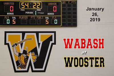 2019 Wabash at Wooster (01-26-19)