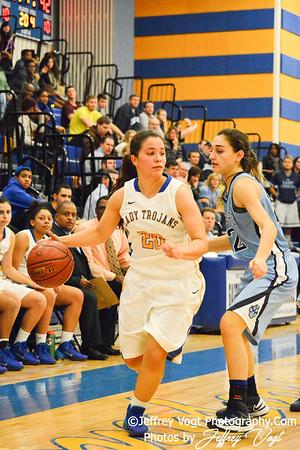 12-20-2013 Gaithersburg HS vs Clarksburg HS Girls Varsity Basketball, Photos by Jeffrey Vogt Photography