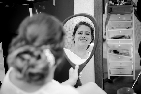 Kristen & Adrian B/W Wedding Photos