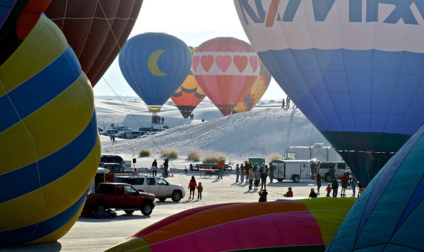 White Sands Invitational Balloon Festival 2012